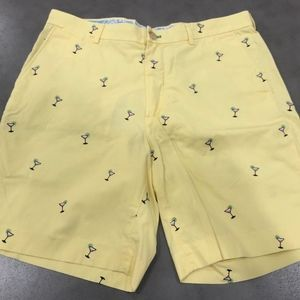 Lilly Pulitzer Everglades Shorts Yellow Martini 34
